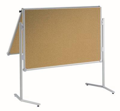 ® Korktafel - klappbar und mobil - BxH 1200 x 1500 mm