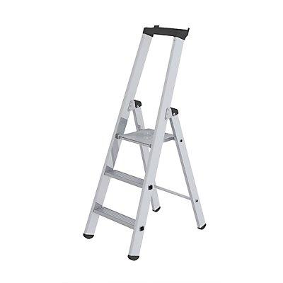 Günzburger Steigtechnik Stufen-Stehleiter, einseitig - Standard-Ausführung