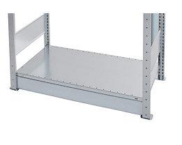 Sockelblende - verzinkt, VE 5 Stk - für Breite 1000 mm