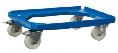 Fahrgestell für Behälter mit Maße ca. 600 x 400 mm - Traglast 250 kg - VE 2 Stk