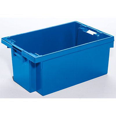 WERIT Drehstapelbehälter aus HDPE - Inhalt 40 l