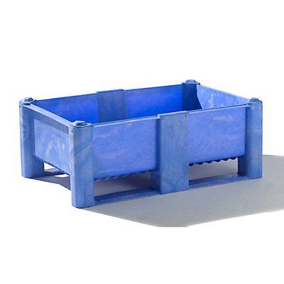 DOLAV Großbehälter aus Polyethylen - Inhalt 240 l, 2 Kufen und 6 Füße