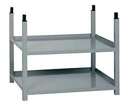 Rayonnage universel modulaire - 2 tablettes