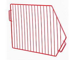 Trenngitter beschichtet - für BxH 500 x 300 mm - rot