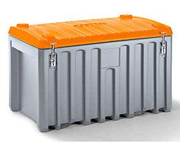 CEMO Malle universelle en polyéthylène - capacité 400 l, charge max. 250 kg