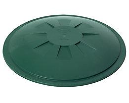 Stülpdeckel - für Rundbehälter 310 l - grün