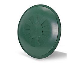 Stülpdeckel - für Rundbehälter 510 l - grün