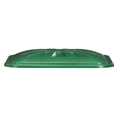 Stülpdeckel - für Rechteckbehälter 300 l - grün