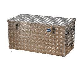 Alu-Transportkiste Riffelblech - 250 l Inhalt
