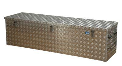 Alu-Transportkiste Riffelblech - 470 l Inhalt - LxBxH 1896 x 525 x 520 mm