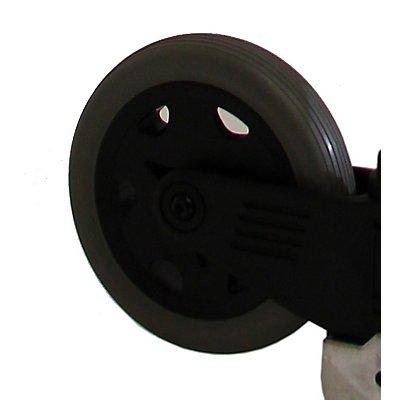 Transportkarre, klappbar - SCORPION M, Tragfähigkeit 125 kg - Schaufel-BxT 488 x 320 mm