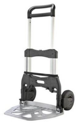 Klapp-Sackkarre SCORPION XL - Tragfähigkeit 250 kg - Schaufel-BxT 660 x 465 mm