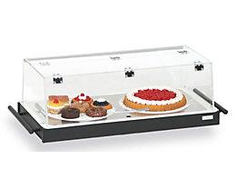Tablette de réfrigération - avec couvercle en plexiglas et 3 accumulateurs