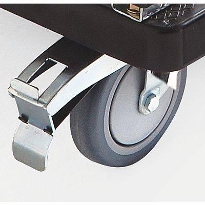 Kunststoff-Plattformwagen - 1 Schiebebügel, klappbar