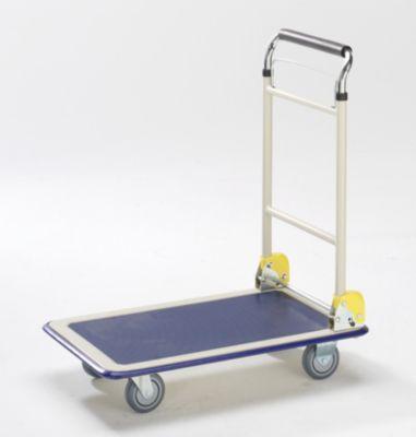 Plattformwagen - Teleskop-Schiebebügel, klappbar