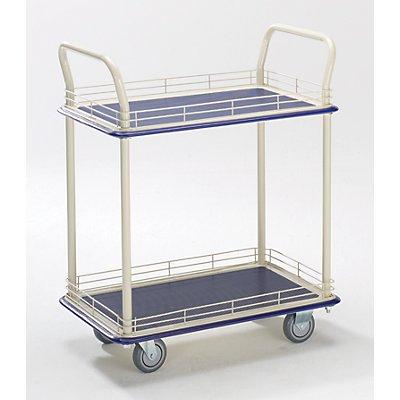 Industrie-Tischwagen - mit zwei Etagen