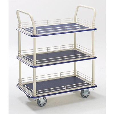 Industrie-Tischwagen - mit drei Etagen