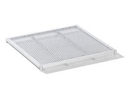 RIMO Etagenboden für Rollbehälter - mit Alu-Lochblechabdeckung - für Breite 720 mm