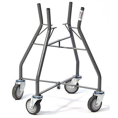 Mörtelkübelwagen - für 10- / 20-l-Eimer - Eimeraufnahme BxH 256 x 223 mm