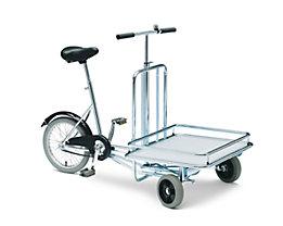 Bicyclette MODELL 20 - 3 roues, avec surface de rangement