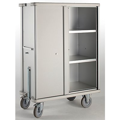 Aluminium-Schrankwagen - Volumen 875 l - 2 Zwischenböden