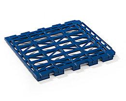 E.S.B. Etagenboden - aus Kunststoff - dunkelblau