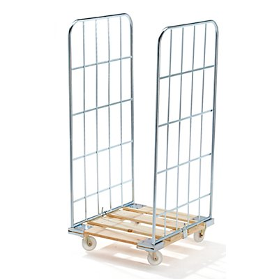 E.S.B. Rollbehälter MODULAR - Holz-Rollplatte