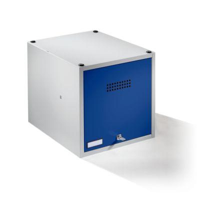 Einzelschließfach, erweiterbar - HxBxT 400 x 400 x 500 mm mit
