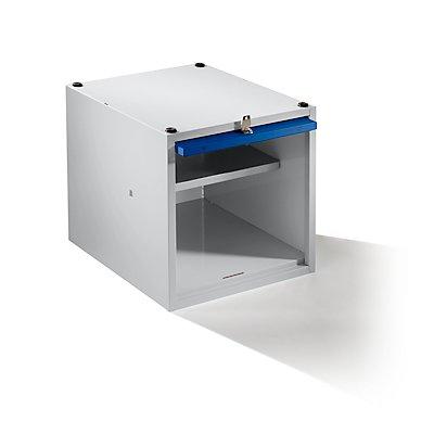 Wolf Einzelschließfach, erweiterbar - HxBxT 400 x 400 x 500 mm