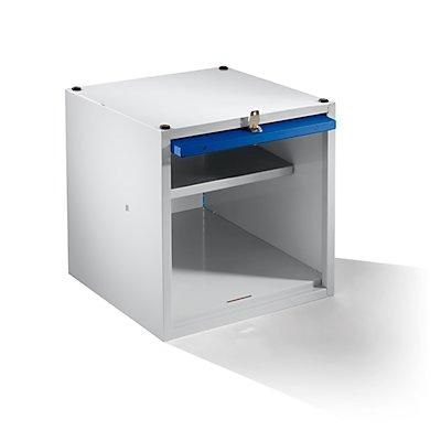 Wolf Einzelschließfach, erweiterbar - HxBxT 500 x 500 x 500 mm