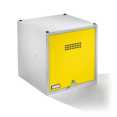 Einzelschließfach, erweiterbar - HxBxT 500 x 500 x 500 mm mit