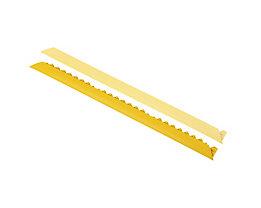 Rampe d'accès biseautée - version mâle - jaune