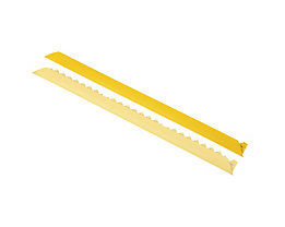 Rampe d'accès biseautée - version femelle - jaune