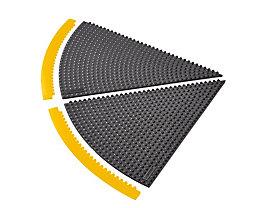 Bodenplatten-Stecksystem - 45°-Winkel, Radius 910 mm