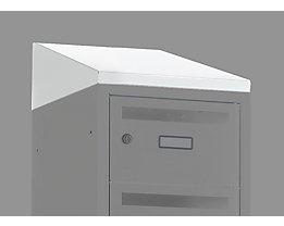 Schrägdachaufsatz - Breite 350 mm - Höhe 156 / 25 mm