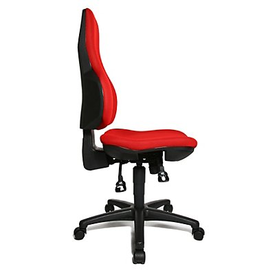 Topstar ERGO POINT SY – der ergonomische Drehstuhl - Bandscheibensitz, Rückenlehne tailliert