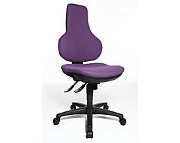 Topstar ERGO POINT SY – le siège pivotant ergonomique - siège de bureau ergonomique, dossier cintré