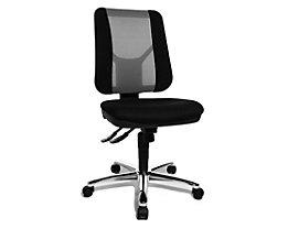 Topstar ARTWORK 20 SY – Bürodrehstuhl zweifarbig - ergonomisch geformt, individuell verstellbar - grau / schwarz