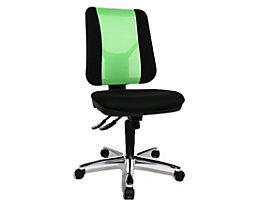 Topstar ARTWORK 20 SY – le siège de bureau bicolore - forme ergonomique, réglage individualisé