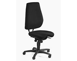 Topstar ALUSTAR Bürodrehstuhl - Rückenlehne verstellbar, Sitzhöhe variabel - schwarz