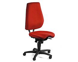 Topstar ALUSTAR Bürodrehstuhl - Rückenlehne verstellbar, Sitzhöhe variabel - rot