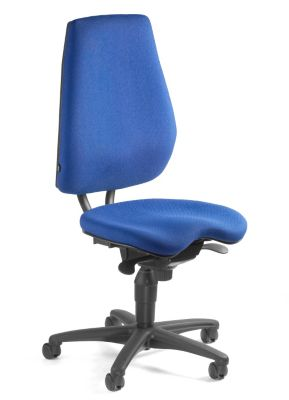 Topstar ALUSTAR Bürodrehstuhl - Rückenlehne verstellbar, Sitzhöhe variabel