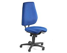 Topstar ALUSTAR Bürodrehstuhl - Rückenlehne verstellbar, Sitzhöhe variabel - royalblau