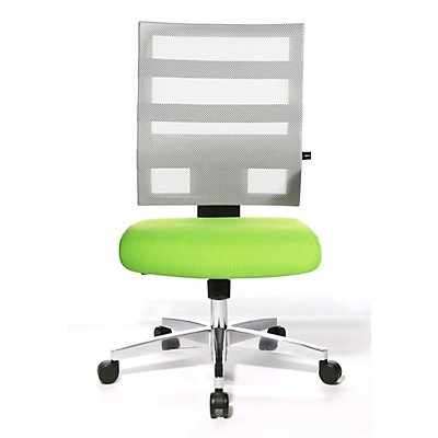 Topstar X-PANDER Bürodrehstuhl - zweifarbig, mit Netzrücken