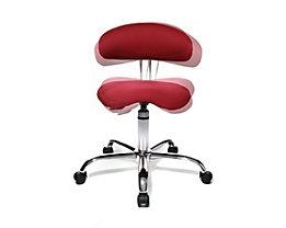 Topstar SITNESS 40 Schreibtischstuhl - 3-dimensional beweglich - rot