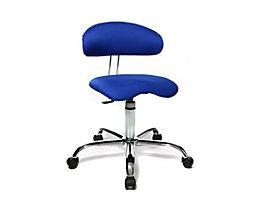Topstar SITNESS 40 Schreibtischstuhl - 3-dimensional beweglich - blau