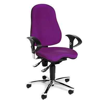 Topstar SITNESS 10 Bürodrehstuhl - Sitzfläche orthopädisch, inklusive Armlehnen