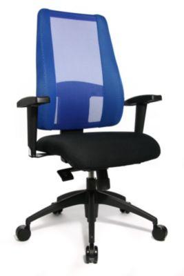 Topstar LADY SITNESS DELUXE Bürodrehstuhl - Sitzfläche beweglich mit sieben Zonen, inklusive Armlehnen