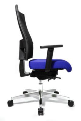 Topstar SITNESS 60 Bürodrehstuhl - mit atmungsaktiver Rückenlehne, inklusive Armlehnen