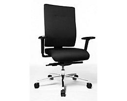 Topstar SITNESS 70 Schreibtischstuhl - inklusive Armlehnen - schwarz